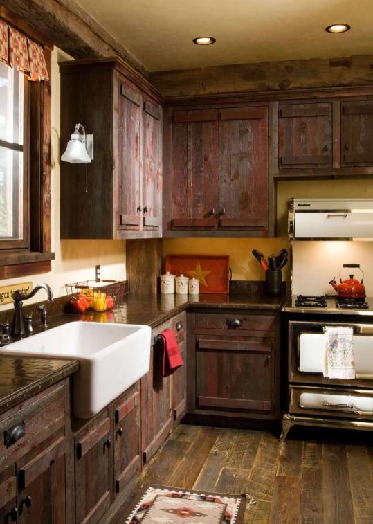 √ 10+ Armoires de cuisine à la ferme: Photos, idées et designs