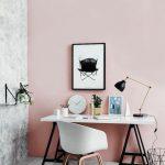 ▷ 1001 + idées pour profiter de la vieille peinture murale rose