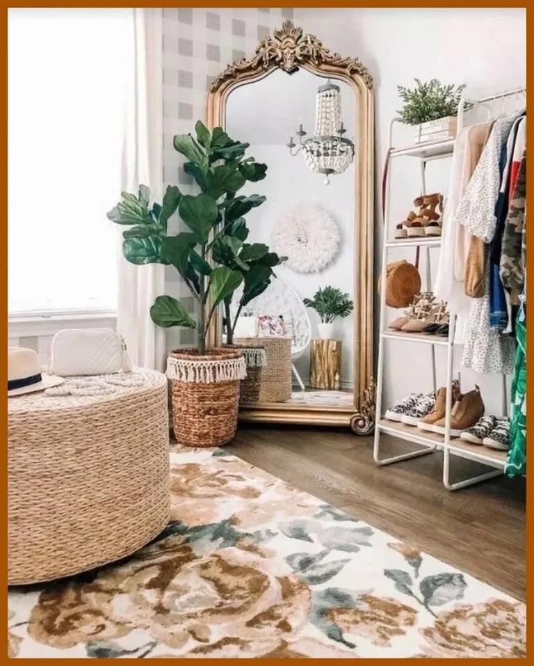 ❤70 idées de décoration de chambre à coucher vintage pour obtenir un look unique et esthétique #chambre …