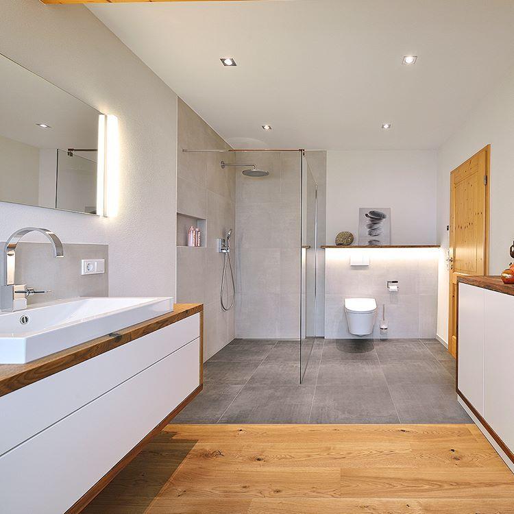 🌞 Mélangez-les tous ensemble! Une modernisation de confort pour la # salle de bain avec beaucoup …