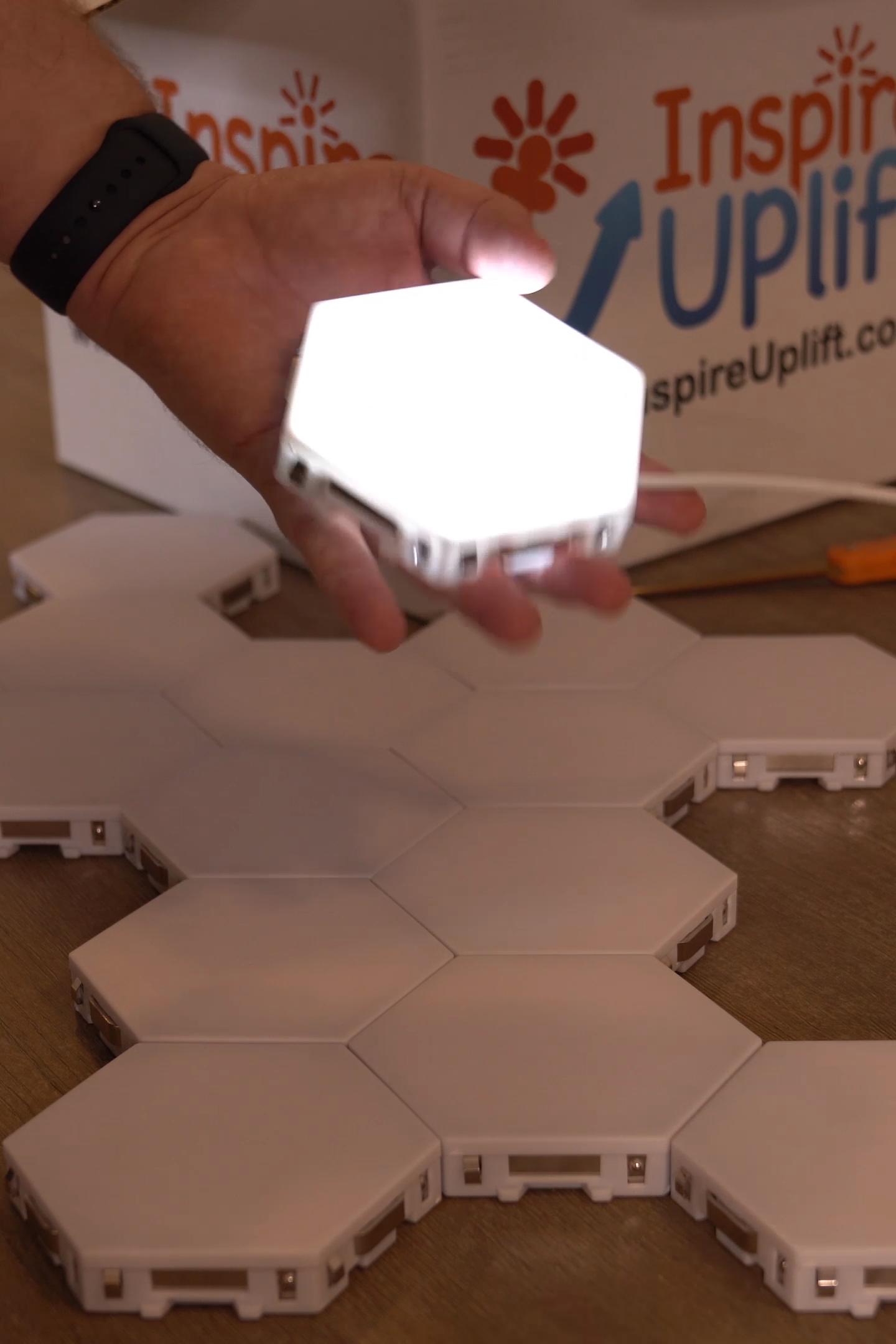 🔥 Lumières tactiles modulaires