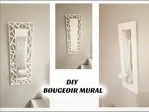 🛠 DIY DÉCO : BOUGEOIR MURAL / CANDLE HOLDER – YouTube