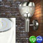 11 Watt LED Extérieur Éclairage Mural Lampe de Jardin Inox Acrylique Clair 300...