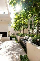 110 idées de design de jardin de style urbain tout en transformant la nature