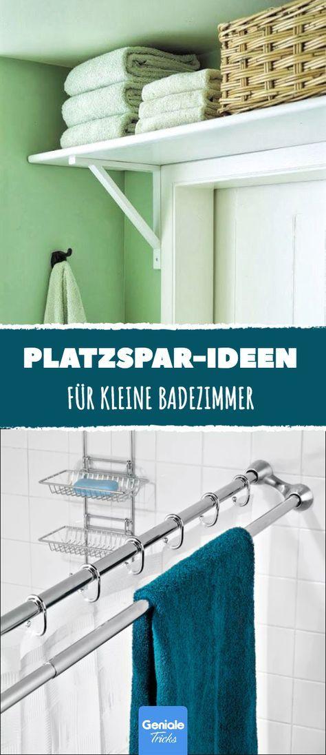 12 idées d'économie d'espace pour la salle de bain.