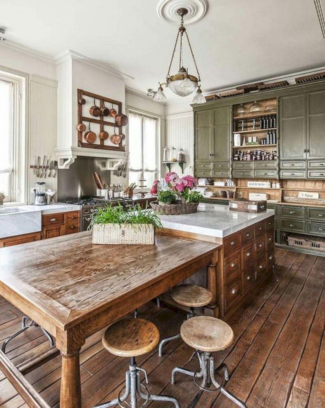 12 plus belles idées de conception de petite cuisine rustique