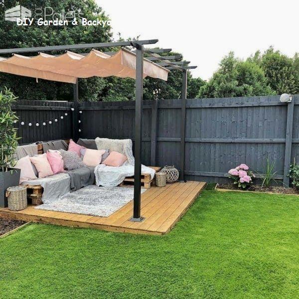 13 Idées géniales et bon marché de meubles de patio 2 – Meubles de patio – Idées de patio …