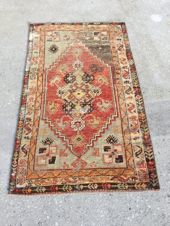 139×81 cm 4,6×2,7 pieds MUTED COLOR BACK, Tapis Pastel, Tapis Oushak, Tapis Turc, Tapis de sol, Tapis turc, Tapis Vintage, Tapis Kilim, Tapis kilim, Tapis, Tapis