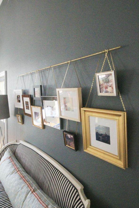 14 façons d'utiliser les tringles à rideaux décoratives, sauf … accrocher les rideaux! – #Kurt