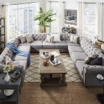 15 grands canapés sectionnels qui s'intégreront parfaitement dans votre foyer familial