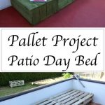 15 meilleures idées de meubles de palette en plein air bricolage