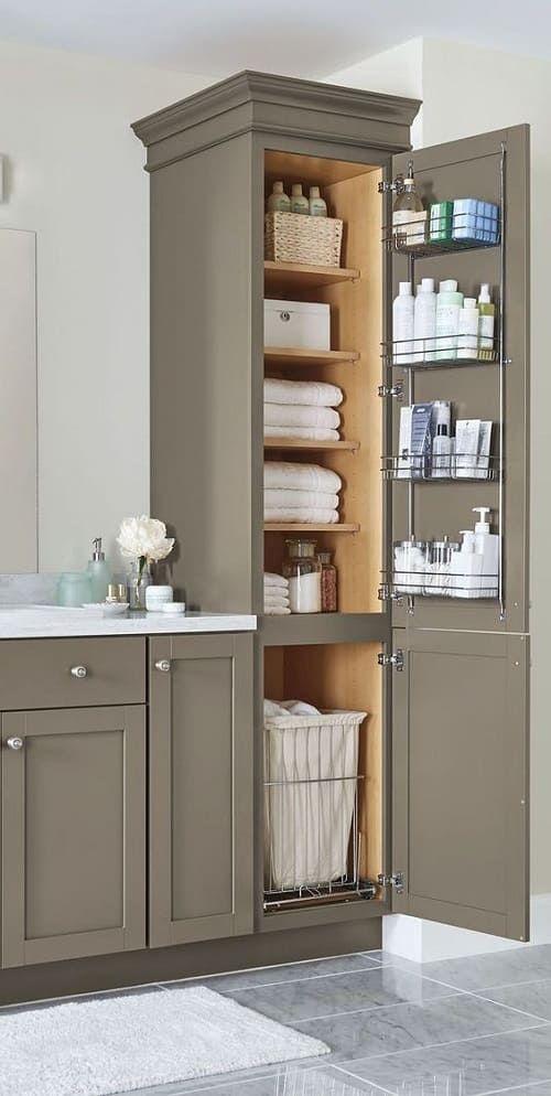 15+ superbes idées de vanité de salle de bains colorées, idéales pour votre salle de bain – Living Design