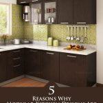 5 raisons pour lesquelles les conceptions de cuisine modulaire sont la dernière tendance en matière de décoration intérieure #Kitche ...