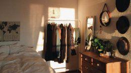 Conception de placard de chambre à coucher principale | Idées de placard en bo…