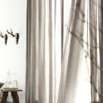 Idées de rideaux, inspirées des dernières tendances en matière de rideaux - Archzine.net