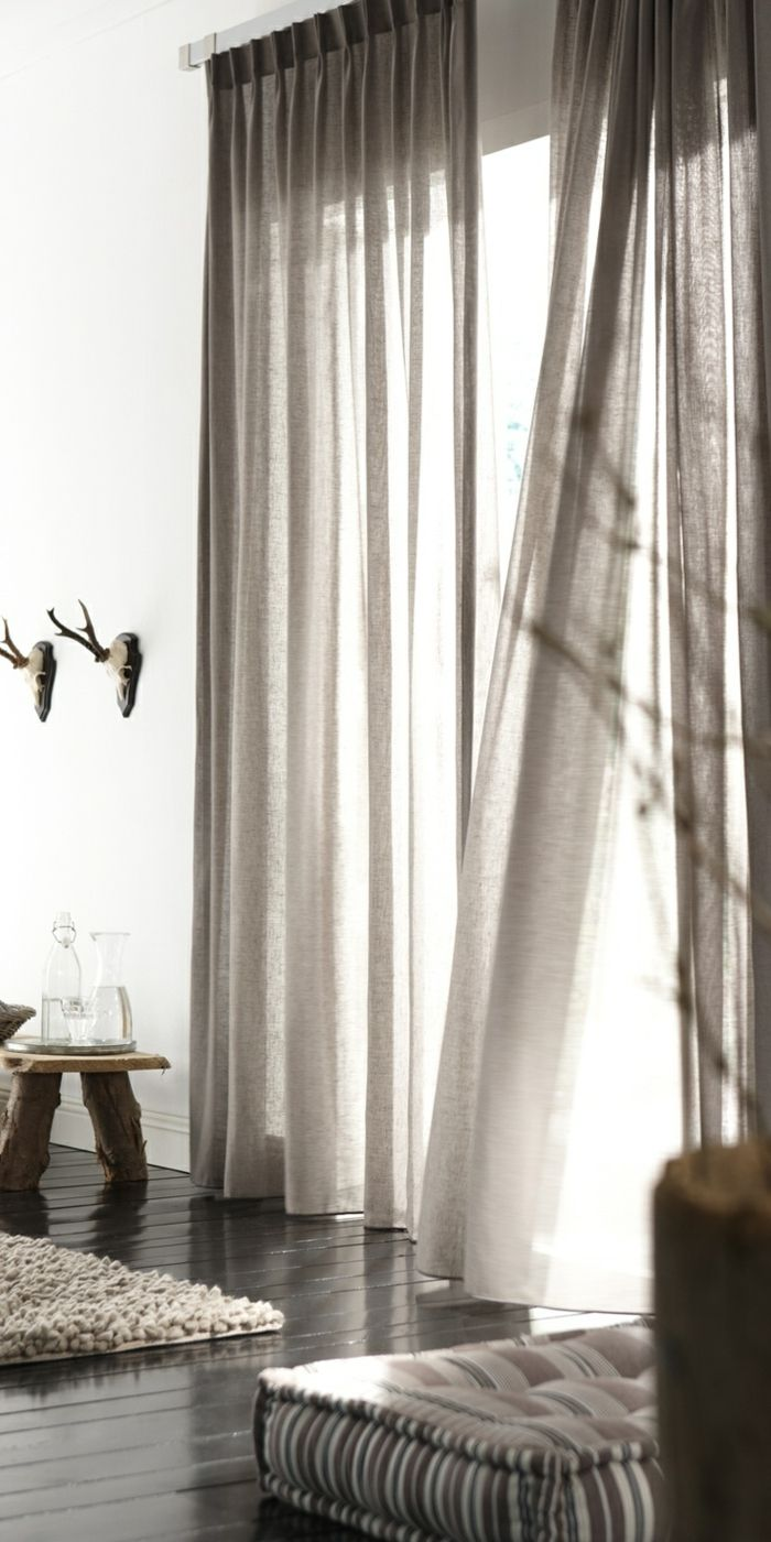 Idées de rideaux, inspirées des dernières tendances en matière de rideaux – Archzine.net