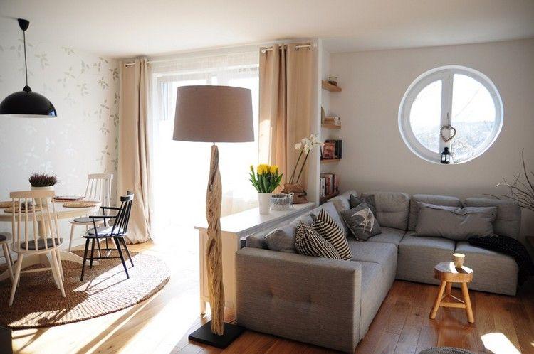 Petit salon aménagé – idées pour l'aménagement de la pièce