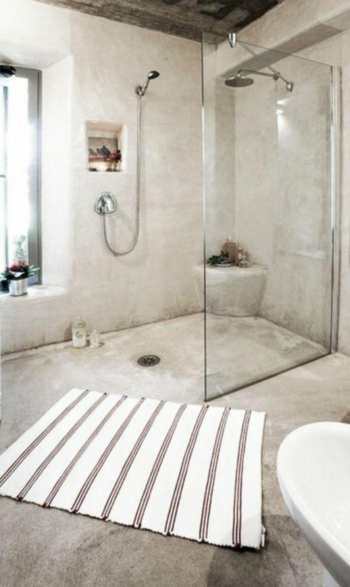 Inspiration pour votre douche à l'italienne – style à l'italienne dans la salle de bain