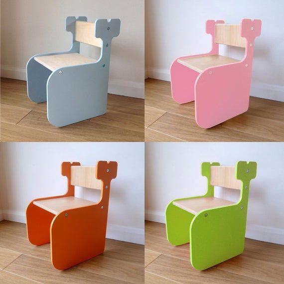 MULTIPLE ITEMS: Chaise d'éléphant pour tout-petits – Chaise et table pour enfants baleines/licornes