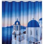 RIDDER Douche de douche Santorini Polyester 180x200 cm