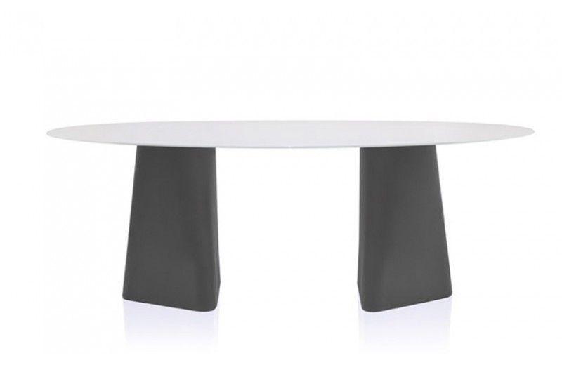 ADAM Table de Repas Ovale B-Line – Meubles Sodezign.com   Sodezign.com