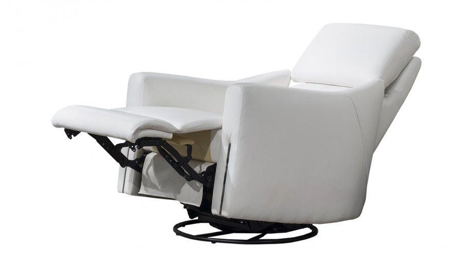 Fabriqué au Canada, le fauteuil berçant pivotant inclinable Diva de Bugatti De…