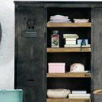 5 armoires métalliques qui se fondraient parfaitement dans le décor de votre maison