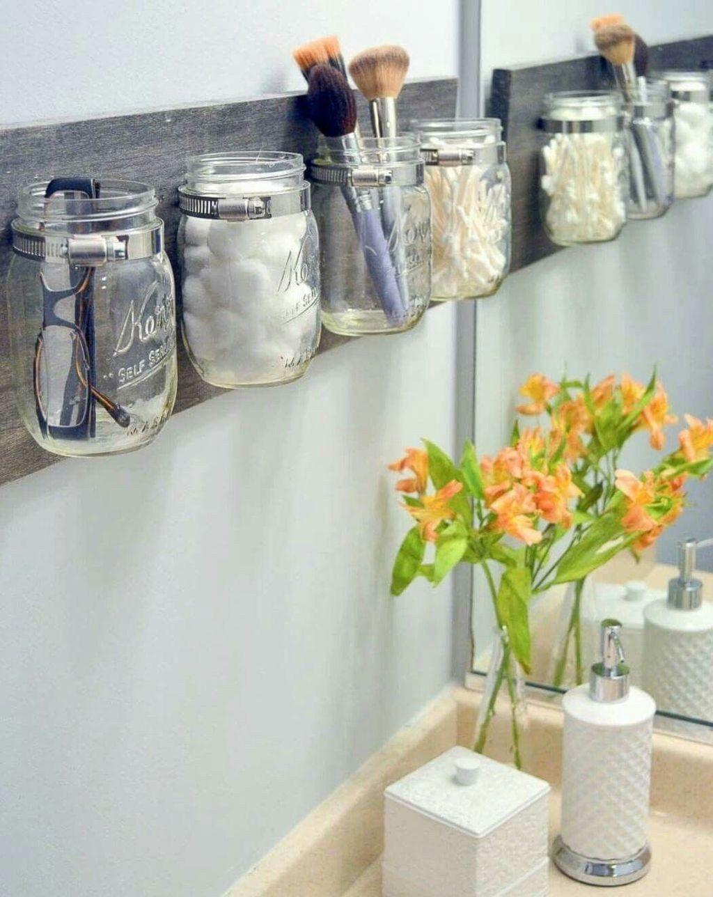 49 beaux espaces de rangement Des idées pour une petite salle de bain