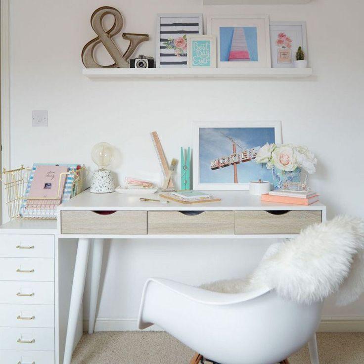 Chambre ado fille moderne en 50 idées pour un décor génial et cosy!