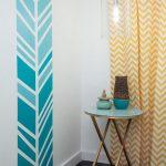 Peinture décorative dessin géométrique- sublimez les murs!