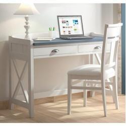 Ensemble de meubles Maja + bureau 150x70x75cm verre platama / verre gris Majamaja