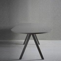 TABLES DE REPAS PLATEAU DE TABLE OVALE – TABLES DE REPAS design de haute qualité