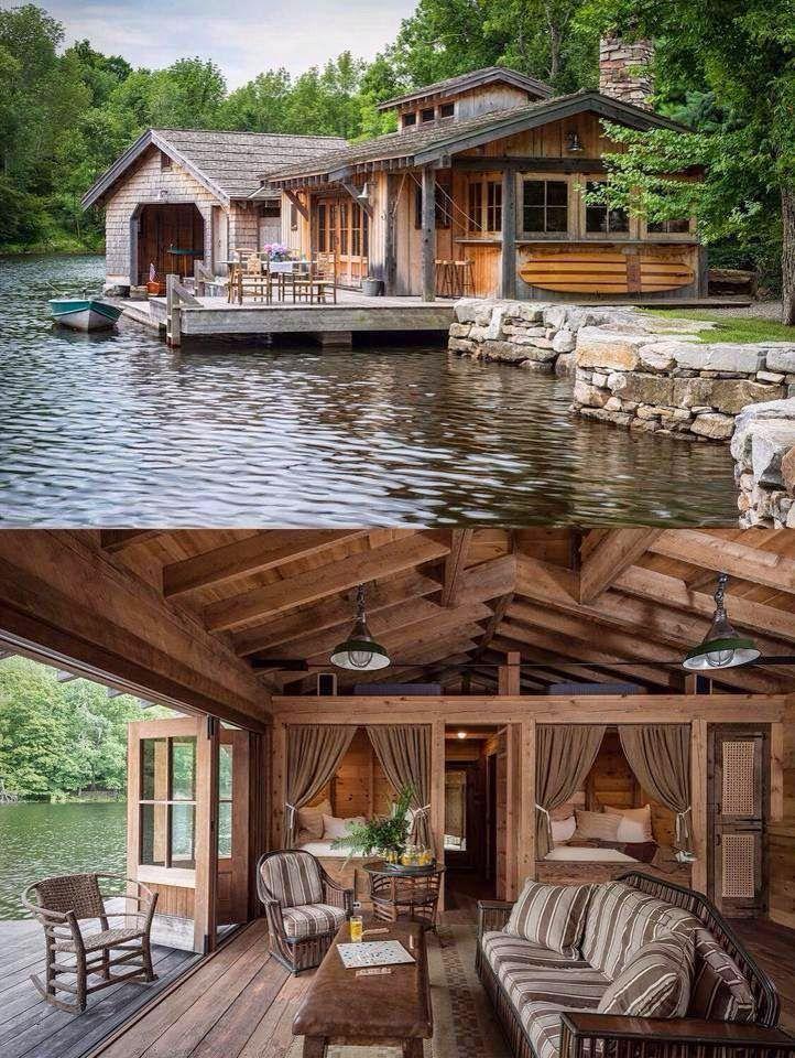 18 maisons de rêve sur le lac, envie de quitter la ville