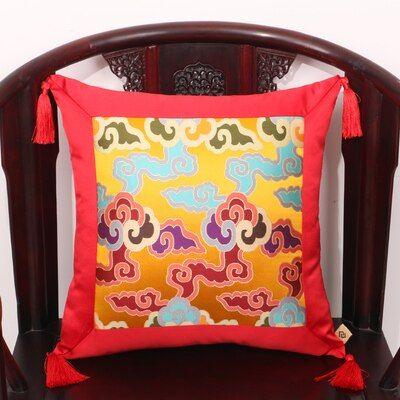 2 tailles Nouveau Design Brocade Coloré Chance Nuages Patten Siège De Voiture Siège Canapé Housse De Coussin sans intérieur