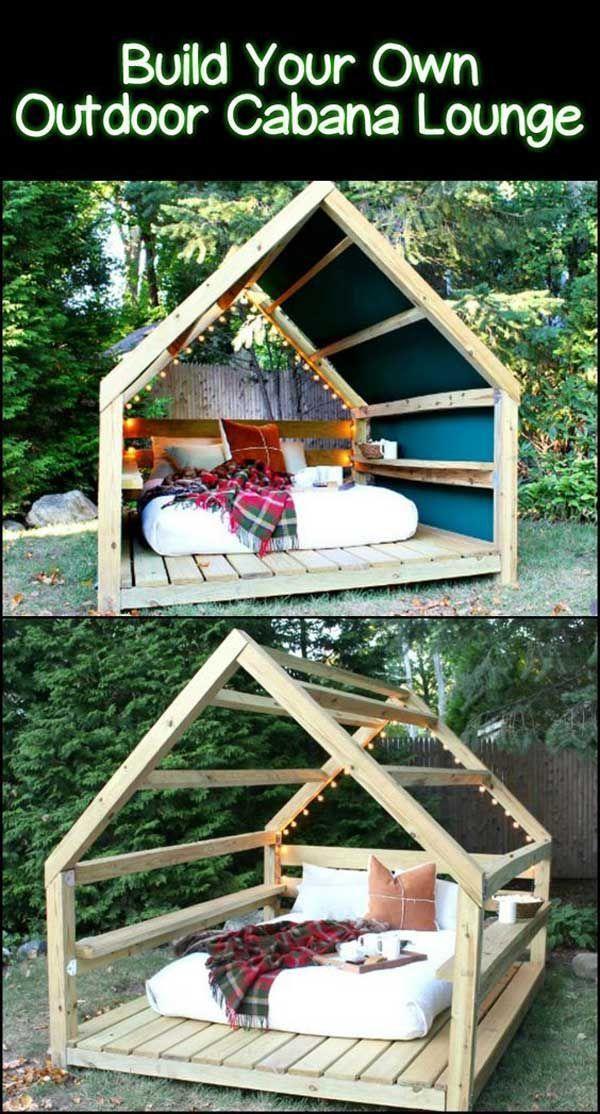 20 Mobilier de jardin et de terrasse bricolage incroyablement cool – Stylekleidung.com