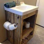 20+ idées de décoration de salle de bain en bois sur palette Genius que vous devez avoir - Living Design