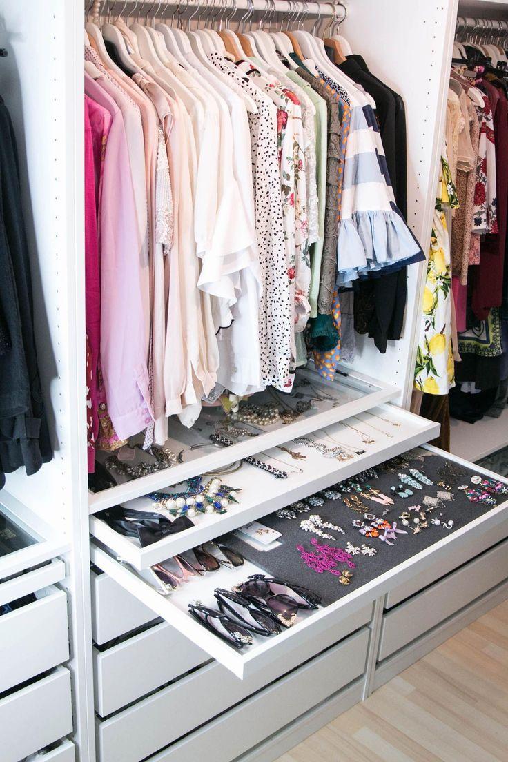 20 incroyables petites idées de dressing et de métamorphose – #Closet #Ideas #Incredibl …