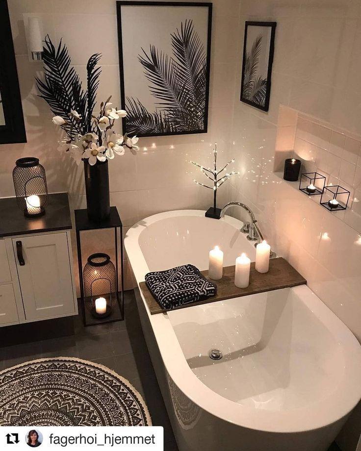 22 idées de décoration de salle de bain magnifique