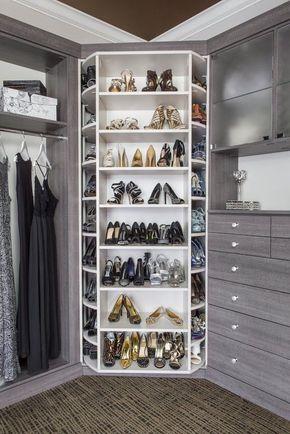 25 cabinets de luxe pour la chambre principale
