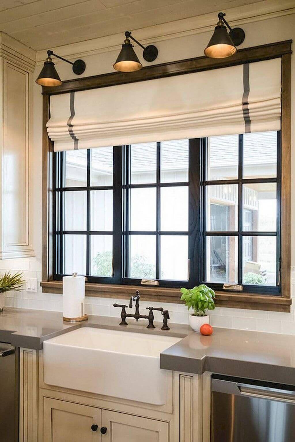 26 idées de traitements pour fenêtres de maison à apporter un charme d'antan à votre maison – Décors déco
