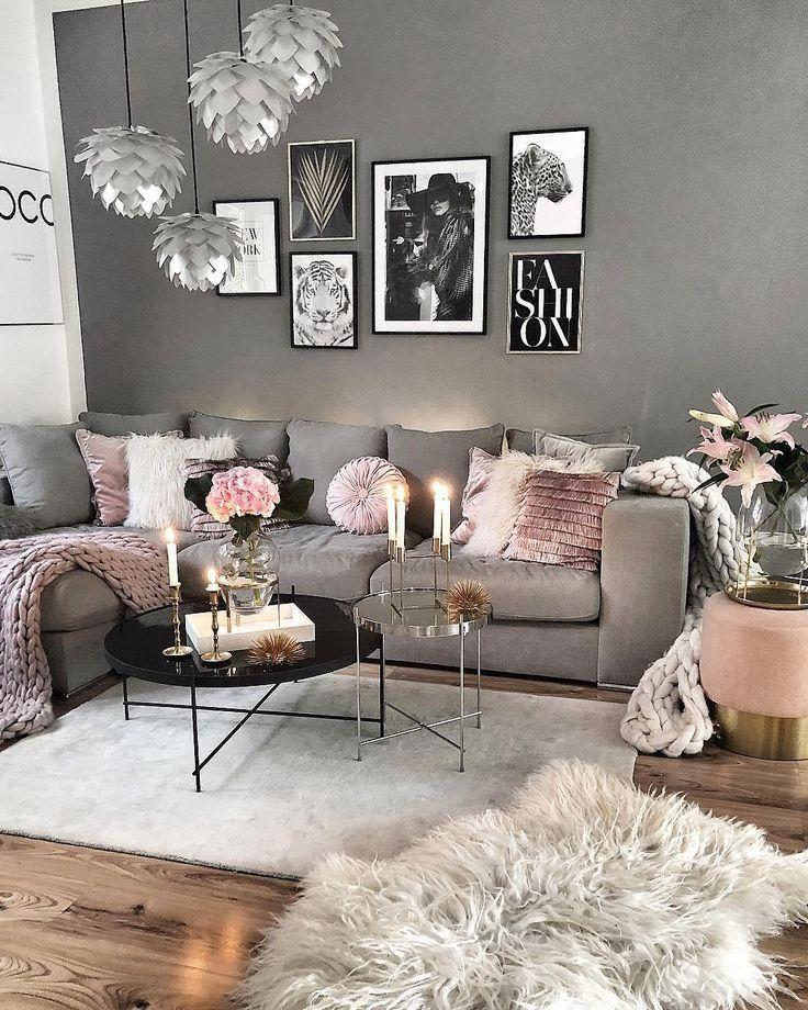 28 idées de décoration de salon confortables pour la copie – dortoir
