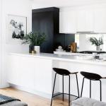 29 élégants aménagements intérieurs de cuisine blanche 11 »tendollarbux.com #whitekitchen # ...