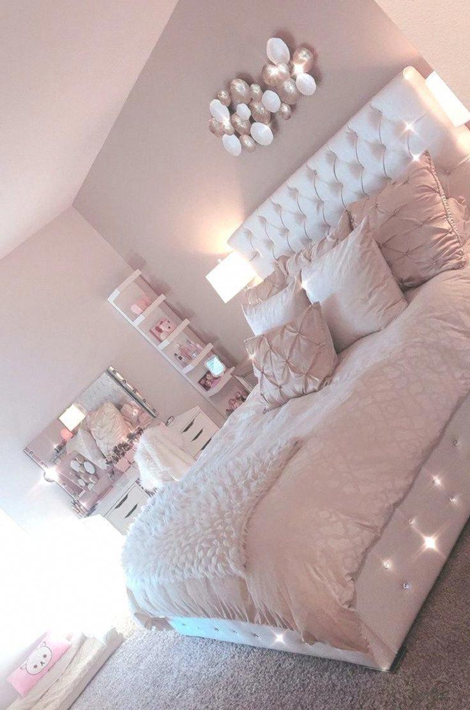 30+ chambres mignonnes de conception de lit rose pour votre Saint-Valentin
