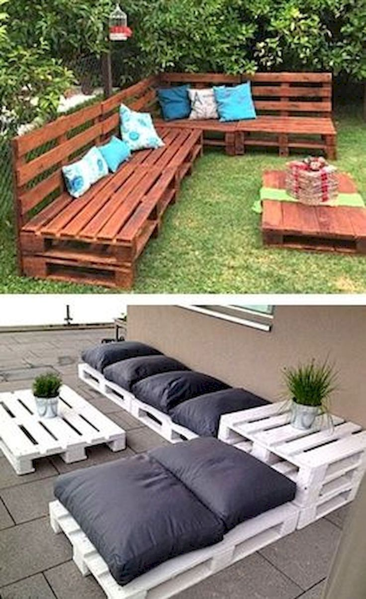 30 idées de meubles de patio bricolage génial – Meubles de patio – Idées de meubles de patio …