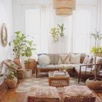 30 idées de salon bohème moderne pour petit appartement