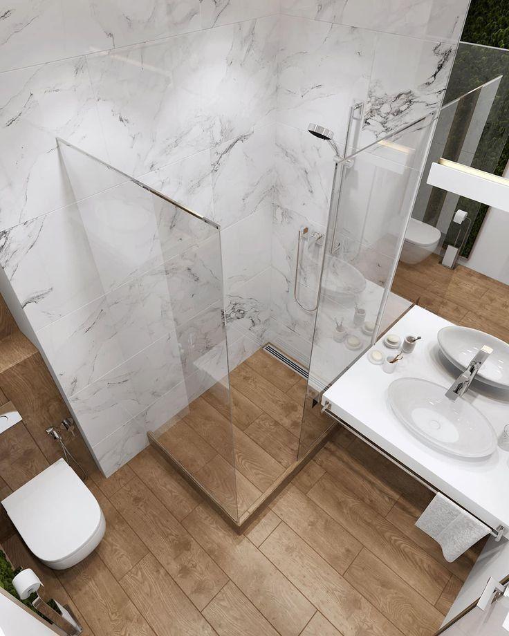 32 idées de douche dans la salle de bain qui sauront vous inspirer