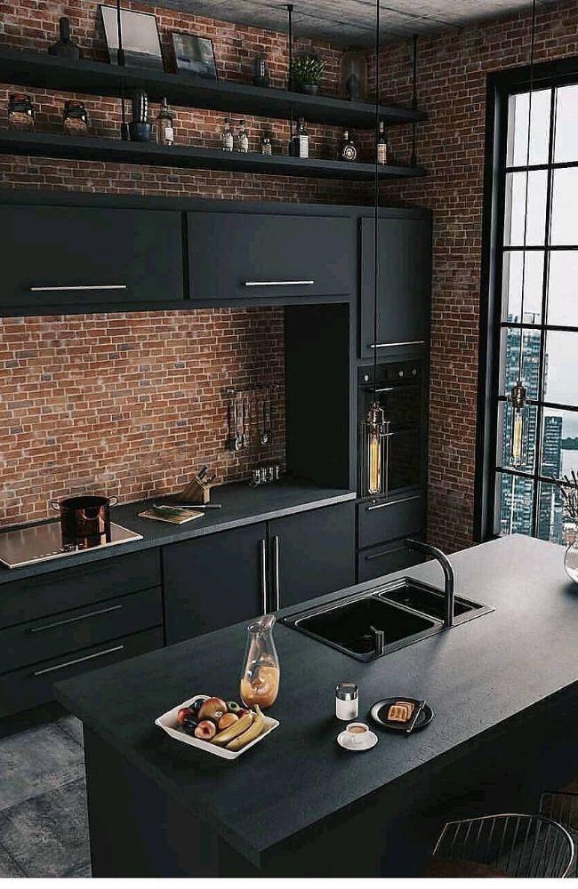 35+ Idées et tendances de design de cuisine pour 2019 – Page 26 sur 35 – Accueil Desi …