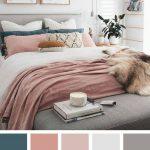 37+ Les idées de couleurs de chambre les plus fraîches et les plus relaxantes