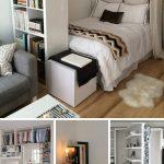 37 designs de petites chambres et idées pour maximiser votre espace pop