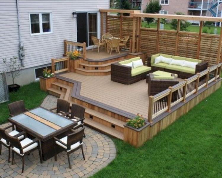 38+ merveilleuses idées de design de patio arrière